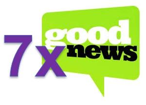 7 x goed nieuws