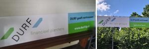 Welkom nieuwe sponsor Durf financieel planner!