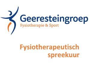 Geerestein fysiotherapeutisch spreekuur
