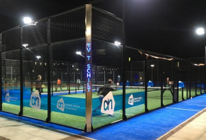 Padel by night